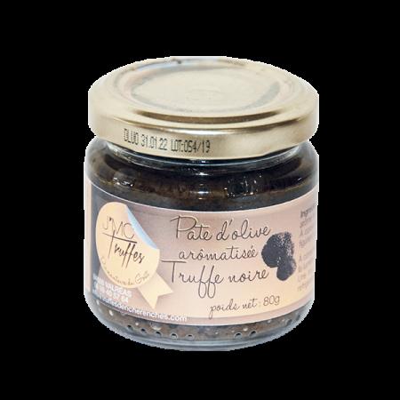 Pâte d'olive à la truffe noire