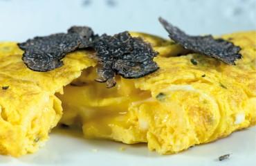 L'omelette aux truffes de Valréas